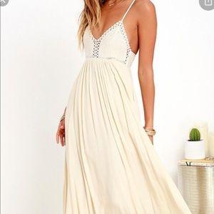 Lulu's Ark & Co Hippie Hippie Chic maxi dress